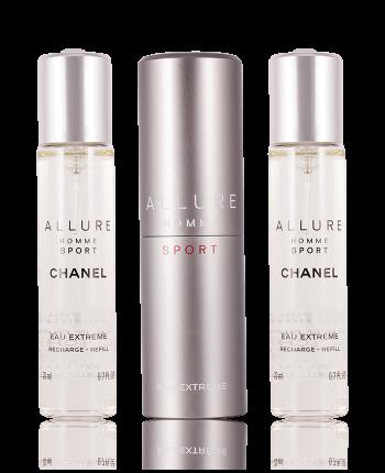 Chanel | Allure Homme Sport | Chanel Allure Homme Sport Eau Extreme Nachfüllbar Eau de Parfum 3 x 20 ml | 3145891235005
