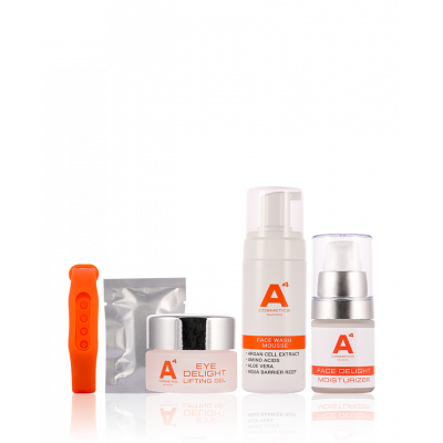Image of A4 Cosmetics Gesichtspflege Reiseset 1 st
