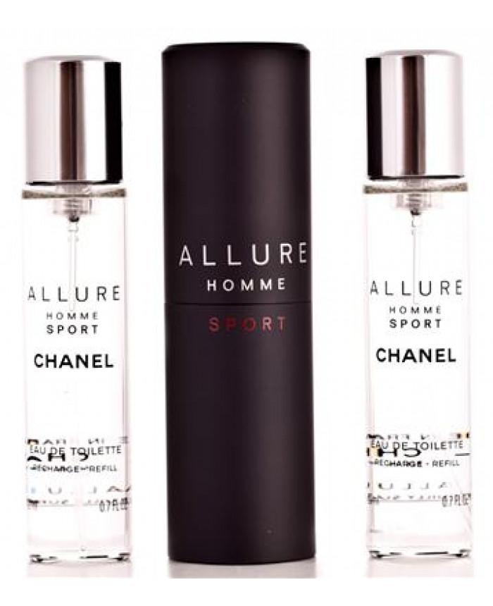 d3916530652 Chanel Allure Homme Sport Eau de Toilette 3 x 20 ml
