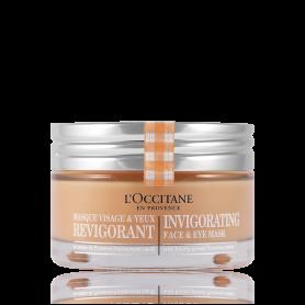 L´Occitane Masque et Exfoliant Invigorating Face & Eye Mask 75 ml