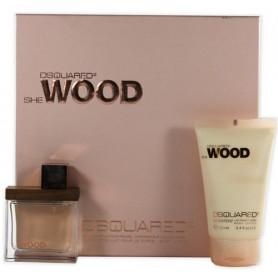 DSQUARED² She Wood Eau de Parfum 50 ml Geschenkset