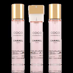 Chanel Coco Mademoiselle Nachfüllung Eau de Parfum 3 x 20 ml