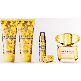 Versace Yellow Diamond Eau de Toilette 90 ml Set