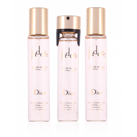 Dior J'adore Eau de Parfum 20 ml x 3 Nachfühllung