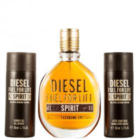 Diesel Fuel for Life Spirit Eau de Toilette 50 ml+SG 50 ml+ASB 50 ml