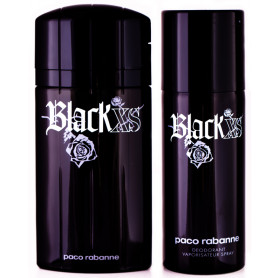 Paco Rabanne Black XS 100ml+150 Deo Herren Set