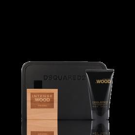 DSQUARED² He Wood Intense Eau de Toilette 50 ml + SG 100 ml + Tasche Set