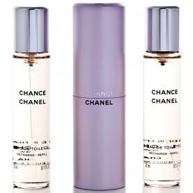 Chanel Chance Eau de Toilette 3 x 20 ml