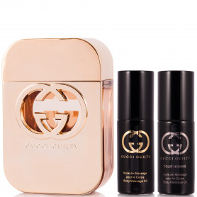 Gucci Guilty Eau de Toilette 75 ml + BÖ 8ml + BÖ 8 ml Set