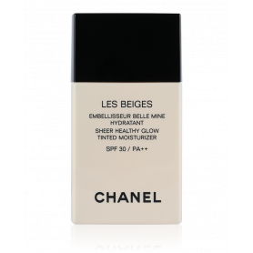 Chanel Les Beiges Sheer Healthy Glow Tinted Moisturizer SPF30 Light Deep 30 ml