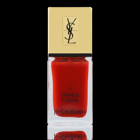 Yves Saint Laurent YSL La Laque Couture Nr.02 Orange Fusion 10 ml