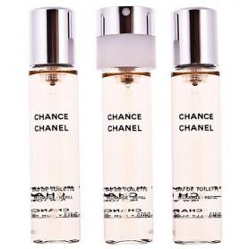 Chanel Chance Eau de Toilette 3 x 20 ml Nachfüllungen