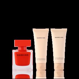 Narciso Rodriguez Narciso Rouge Eau de Parfum 50 ml + SG 75 ml + BL 75 ml Set