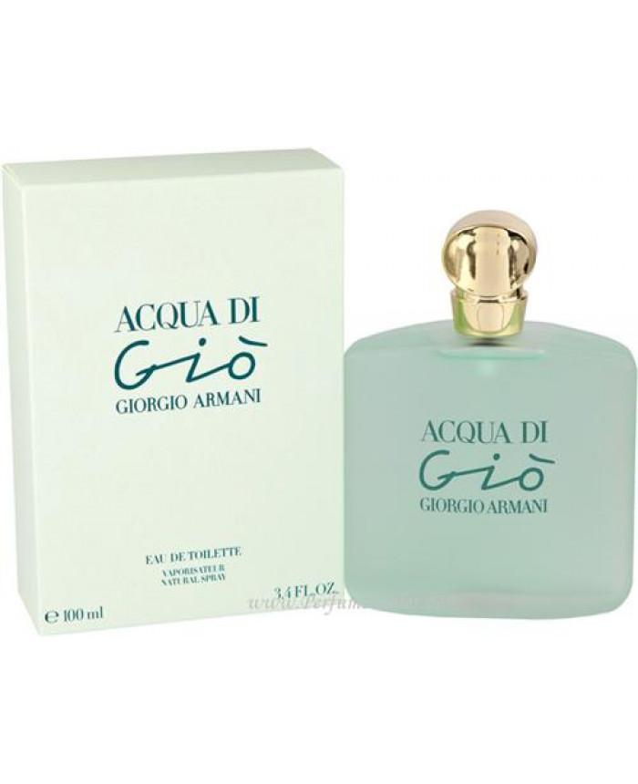 Giorgio Armani Acqua Di Gio Eau De Toilette 100 Ml Perfumetrader