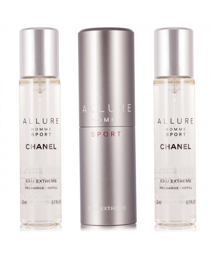 Chanel Allure Homme Sport Eau Extreme Nachfüllbar Eau De Parfum 3 X