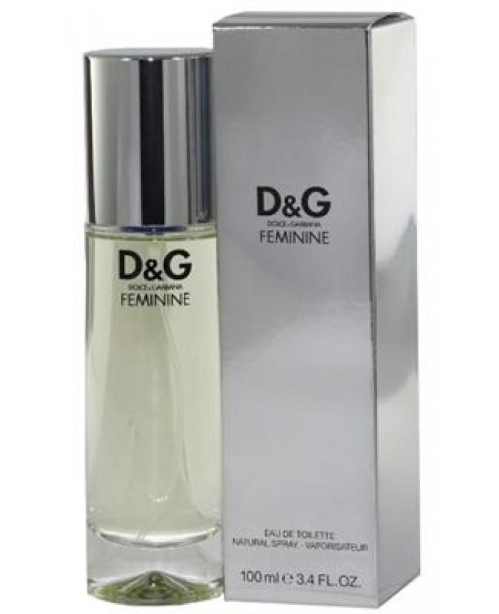 82b4a7fdeddaa Dolce   Gabbana D G Feminine Eau de Toilette EdT 100 ml