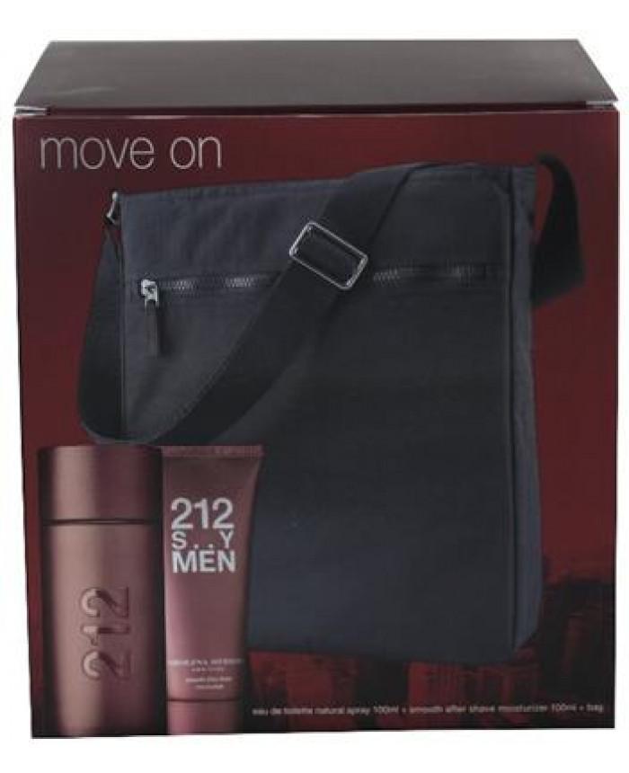 Carolina Herrera 212 Sexy Men Herren Set Perfumetrader