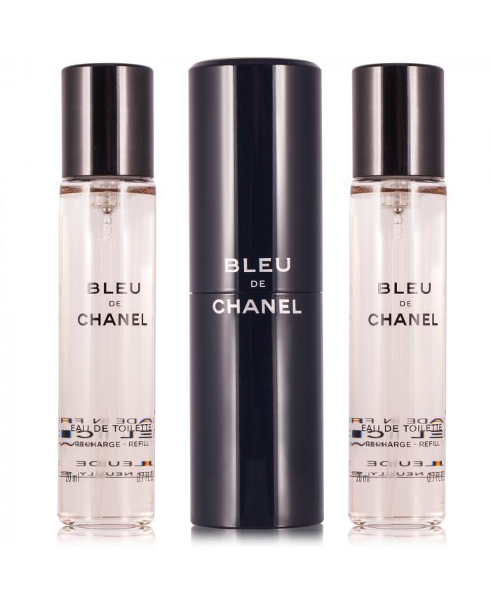 Chanel Bleu De Chanel Eau De Toilette 3 X 20 Ml Perfumetrader