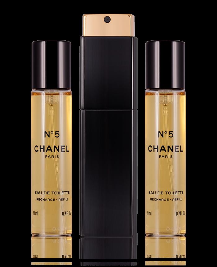 Chanel No 5 Eau De Toilette 3 X 20 Ml Perfumetrader