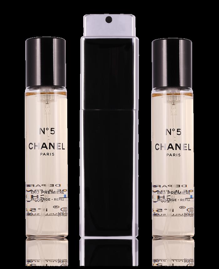 Chanel No 5 Eau Premiére Nachfüllbar 3 X 20 Ml Perfumetrader