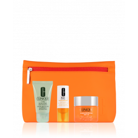 Clinique Superdefense Cream SPF 25 50 ml 4-teilig Set