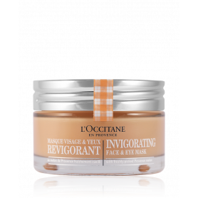L´Occitane Masque et Exfoliant Invigorating Face & Eye Mask 75 ml