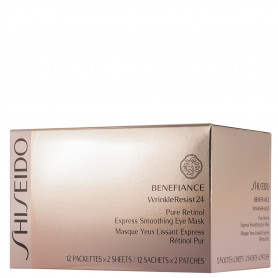 Shiseido Benefiance Wrinkle Resist 24 Express Smoothing Eye Mask 12 St