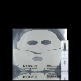 M2 Beaute Ultra Pure Solutions Hybrid Second Skin Mask Brown Alga