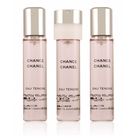 Chanel Chance Eau Tendre Nachfüllung 3 x 20 ml
