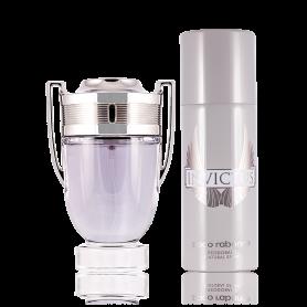 Paco Rabanne Invictus Eau de Toilette 100 ml + Deodorant Spray 150 ml Set