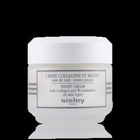 Sisley Creme Collagene Et Mauve Soin de Nuit Toutes Peaux 50 ml