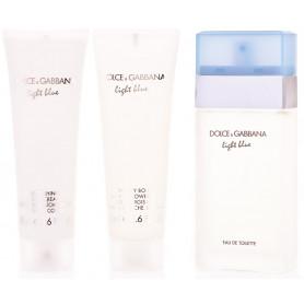Dolce & Gabbana Light Blue Eau de Toilette 50ml + BL 50 ml + SG 50 ml Set