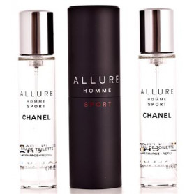 Chanel Allure Homme Sport Eau de Toilette 3 x 20 ml