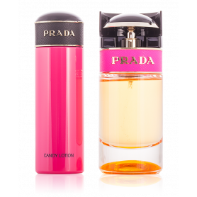 Prada Candy Eau de Parfum 50 ml + Body Lotion 75 ml Damenset