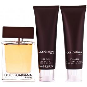 Dolce & Gabbana D&G The One For Men (EdT100 ml+AS 50ml+SG 50ml) Set