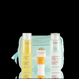 Clarins Trousse Demaquillage Perfect Cleansing für trockene Haut Set