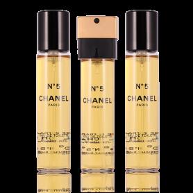 Chanel No. 5 Eau de Toilette Nachfüllung Taschenspray 3 x 20 ml