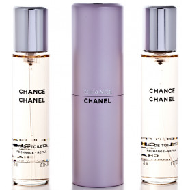Chanel Chance Eau de Toilette 3 x 20 ml