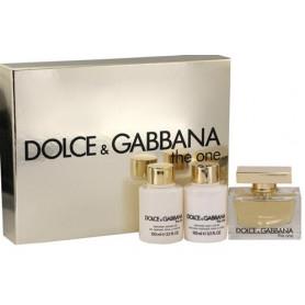 Dolce & Gabbana The One Eau de Parfum 75 ml + BL 100 ml + SG 100 ml Set