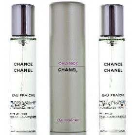 Chanel Chance Eau Fraiche Eau de Toilette 3 x 20 ml