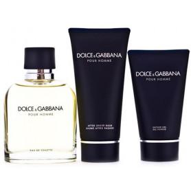 Dolce & Gabbana Pour Homme D&G (EdT 125 ml + AS 100 ml + SG 50 ml) Set