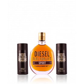 Diesel Fuel for Life Spirit Eau de Toilette 75 ml + SG 2 x 50 ml Set
