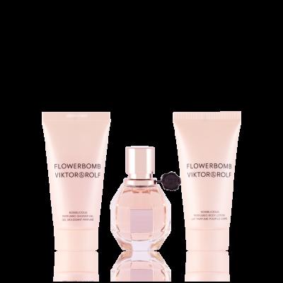 Productafbeelding van Viktor & Rolf Flowerbomb Eau de Parfum 30 ml + SG 50 ml + BL 50 ml Set