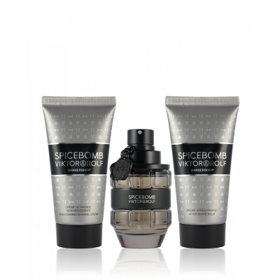 Productafbeelding van Viktor & Rolf Spicebomb Eau de Toilette 50 ml + ASB 50 ml + Rasier Cream 50 ml