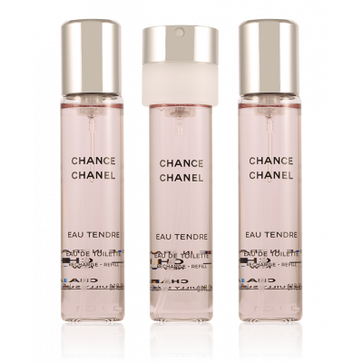 Productafbeelding van Chanel Chance Eau Tendre Nachfüllung 3 x 20 ml