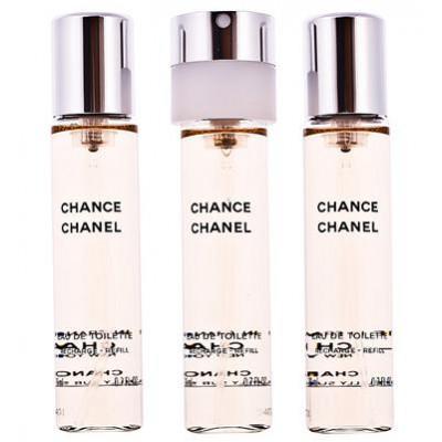 Productafbeelding van Chanel Chance Eau de Toilette 3 x 20 ml Nachfüllungen