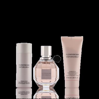 Productafbeelding van Viktor & Rolf Flowerbomb Eau de Parfum 30 ml + SG 50 ml + BC 40 ml Set