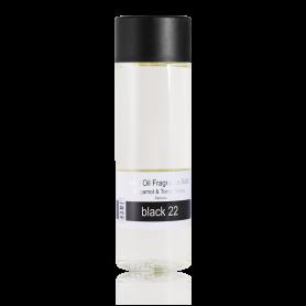 Janzen Home Oil Fragrance Black 22 Bergamot & Tonka Beans Refill 200 ml
