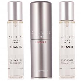 Chanel Allure Homme Sport Eau Extreme Nachfüllbar Eau de Parfum 3 x 20 ml