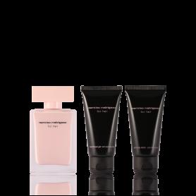 Narciso Rodriguez for Her Eau de Parfum 50 ml + SG 50 ml + BL 50 ml Set